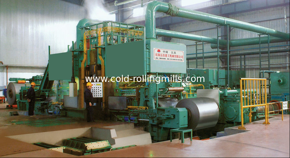 Cold Carbon Steel Rolling Mill Machine 1450mm AGC 900m / Min